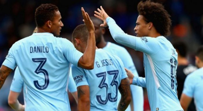 Formacionet zyrtare: Crystal Palace – City