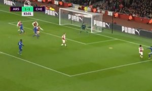 Chelsea shokon Arsenalin (Video)