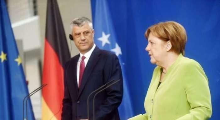 Gjermania kundërshton rolin prijës të Hashim Thaçit në bisedimet me Serbinë?