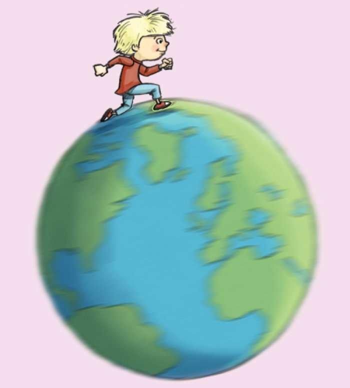 Pse nuk mund ta ndjejmë botën duke u rrotulluar?