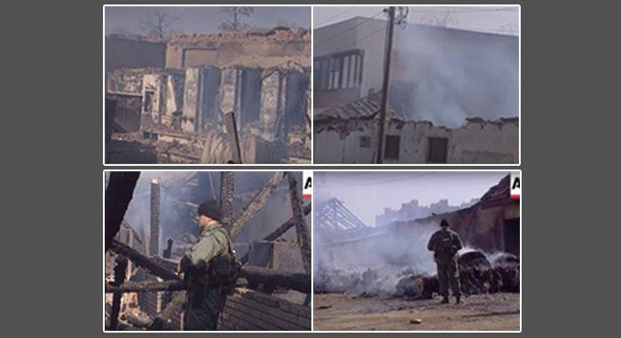 """Pamje të publikuara për herë të parë: Shikoni paramilitarët serb se si e dogjën shtypshkronjën e """"Kosova Sot"""""""