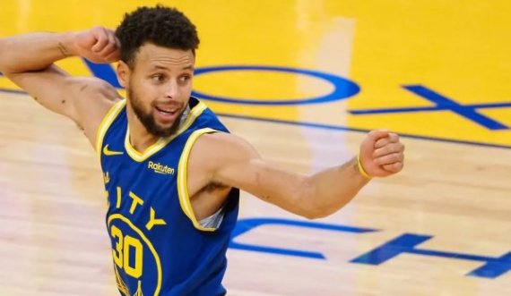 Lakers zhgënjen ndaj Boston, Curry udhëheq Warriors drejt Play Off-it