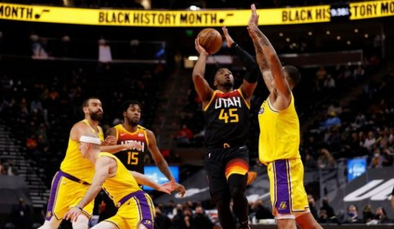 NBA: Uta Jazz superiore edhe ndaj Lakers